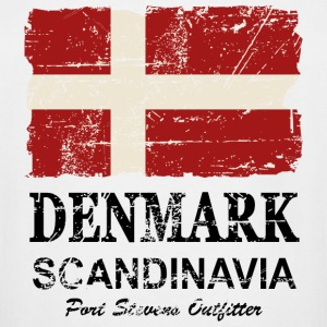 Denmark Flag - Vintage Look  T-Shirts - Men's Tall T-Shirt