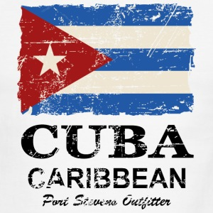 Cuba Flag - Vintage Look  T-Shirts - Men's Ringer T-Shirt