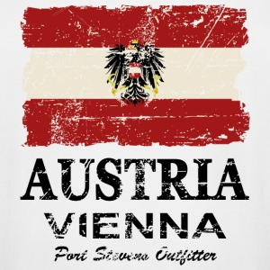 Austria Flag - Vintage Look  T-Shirts - Men's Tall T-Shirt