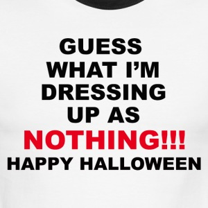 Halloween Costume Shirt - Men's Ringer T-Shirt
