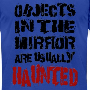 haunted-mirrors T-Shirts - Men's T-Shirt by American Apparel