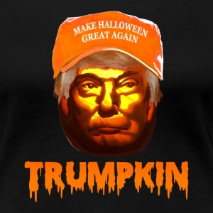 Make Halloween Great Again Trumpkin Shirt - Women's Premium T-Shirt
