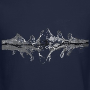 splashes Long Sleeve Shirts - Crewneck Sweatshirt