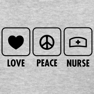 Love - Peace - Nurse Women's T-Shirts - Women's T-Shirt