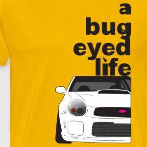 Subaru Bug Eyed Life - Men's Premium T-Shirt