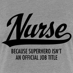 Nurse - Superhero Women's T-Shirts