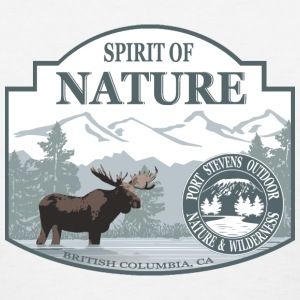 Spirit of nature - Moose in British Columbia Women's T-Shirts - Women's T-Shirt