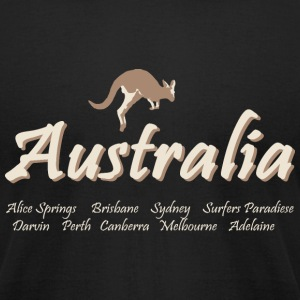 Australia T-Shirts - Men's T-Shirt by American Apparel