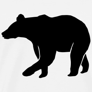 Grizzly bear T-Shirts - Men's Premium T-Shirt