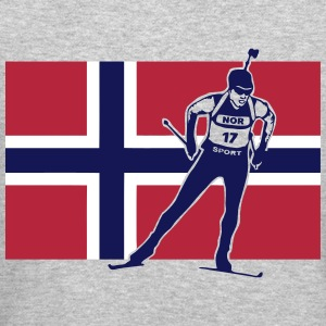 Norway Biathlon  Long Sleeve Shirts - Crewneck Sweatshirt