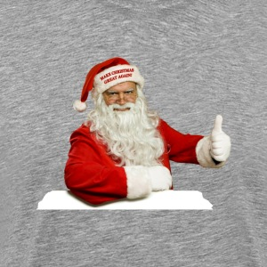 Santa Make Christmas Great Again! T-shirt - Men's Premium T-Shirt