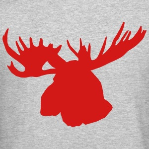 Moose Long Sleeve Shirts - Crewneck Sweatshirt
