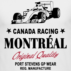 Montreal Formula One Long Sleeve Shirts - Men's Long Sleeve T-Shirt by Next Level