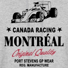 Montreal Formula One Hoodies