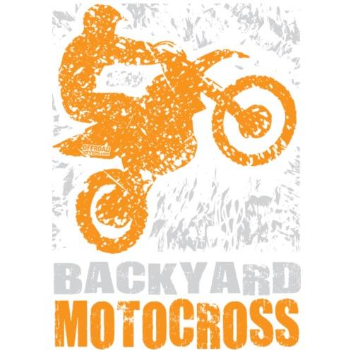 Motocross Backyard Orange