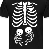 Design ~ Twins! Skeleton Maternity Costume