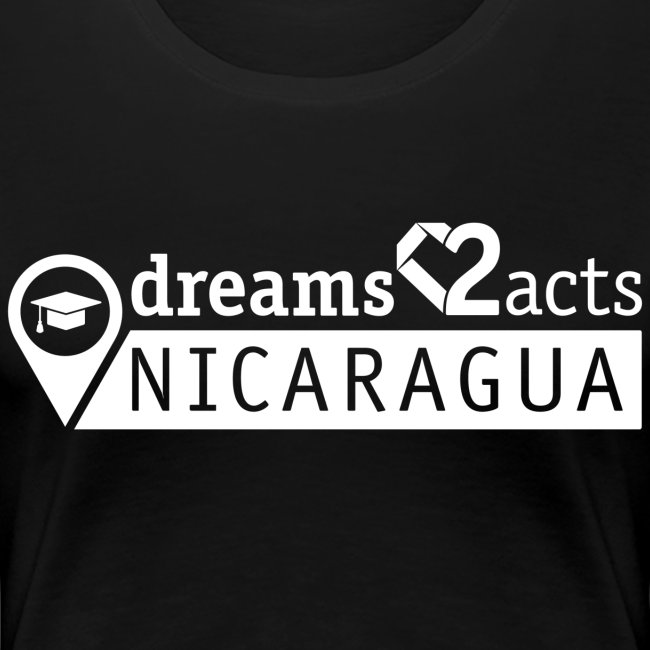 Dreams 2 Acts Women's Heart (white logo)