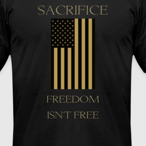 Sacrifice - Men's T-Shirt by American Apparel