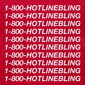 1-800-hotlinebling T-Shirts - Men's T-Shirt by American Apparel