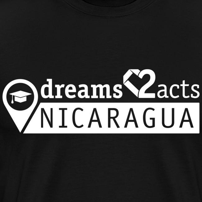 Dreams 2 Acts Men's Heart (white logo)