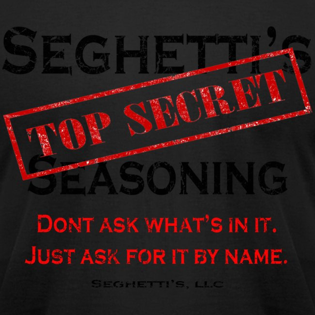 Seghetti's Top Secret Seasoning