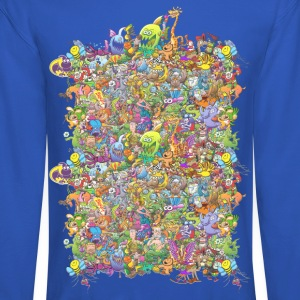 Creatures Festival Long Sleeve Shirts - Crewneck Sweatshirt