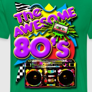 Old School Lasonic Boombox Art T-Shirts - Men's Premium T-Shirt