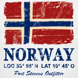 Norway Flag - Vintage Look T-Shirts - Men's Tall T-Shirt