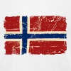 Norway Flag - Vintage Look T-Shirts - Men's T-Shirt by American Apparel