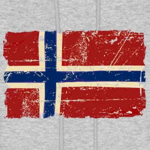 Norway Flag - Vintage Look Hoodies - Men's Hoodie