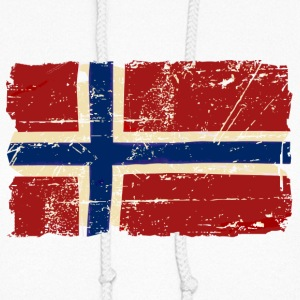 Norway Flag - Vintage Look Hoodies - Women's Hoodie