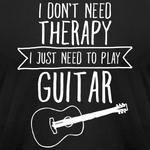 I Don't Need Therapy - I Just Need To Play... T-Shirts - Men's T-Shirt by American Apparel