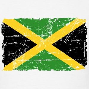 Jamaica Flag - Vintage Look T-Shirts - Men's T-Shirt