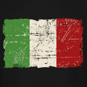 Italy Flag - Vintage Look T-Shirts - Men's Tall T-Shirt