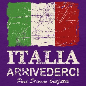 Italy Flag - Vintage Look Women's T-Shirts - Women's T-Shirt