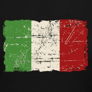 Italy Flag - Vintage Look Long Sleeve Shirts - Women's Long Sleeve Jersey T-Shirt