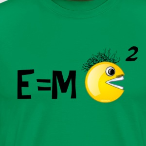 Einstein's smarter little brother, SMILEY! T-Shirts - Men's Premium T-Shirt