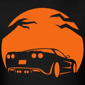 Halloween Car Pumpkin - Men's T-Shirt