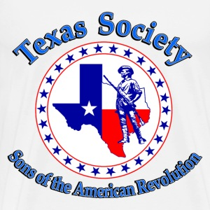 Texas society Sons of American Revolution - Men's Premium T-Shirt