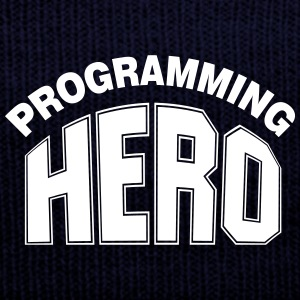 Programming Hero Caps - Knit Cap with Cuff Print
