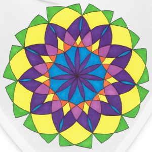 Stain Glass Flower - Bandana