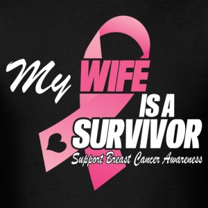 My Wife Is A Survivor T-Shirts - Men's T-Shirt