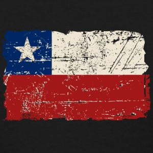 Chile Flag - Vintage Look Women's T-Shirts - Women's T-Shirt