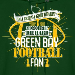 I'M A GREEN BAY FOOTBALL FAN Hoodies - Men's Hoodie