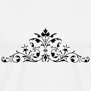 wedding floral - Men's Premium T-Shirt