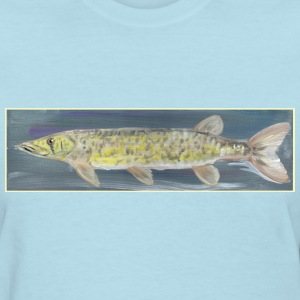 Chain Pickerel Art Women's T-Shirt - Women's T-Shirt