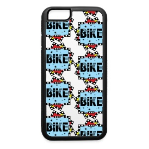 Bike Stars Block Pattern Accessories - iPhone 6/6s Rubber Case