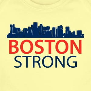 Boston Strong - Skyline - Short Sleeve Baby Bodysuit