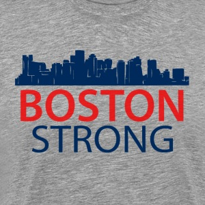 Boston Strong - Skyline - Men's Premium T-Shirt