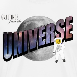 Greetings from the Universe - Men's Premium T-Shirt